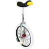 QU-AX Profi ISIS - Monocycle - blanc/argent
